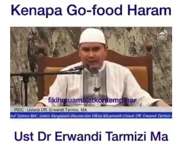 Senasib dengan Klepon, Kini Go Food disebut Haram.