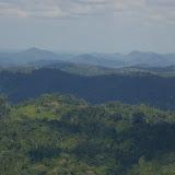 Paysage entre Saül et Maripasoula (Guyane), 2 décembre 2011. Photo : J.-M. Gayman