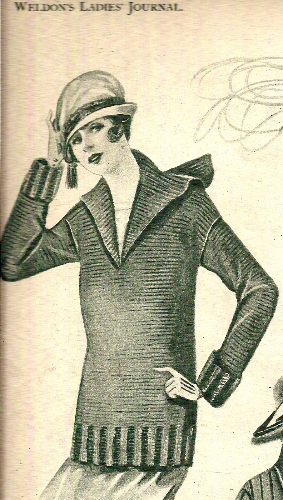 Free Knitting and Crochet Patterns - Vintage Knitted Couture l ...