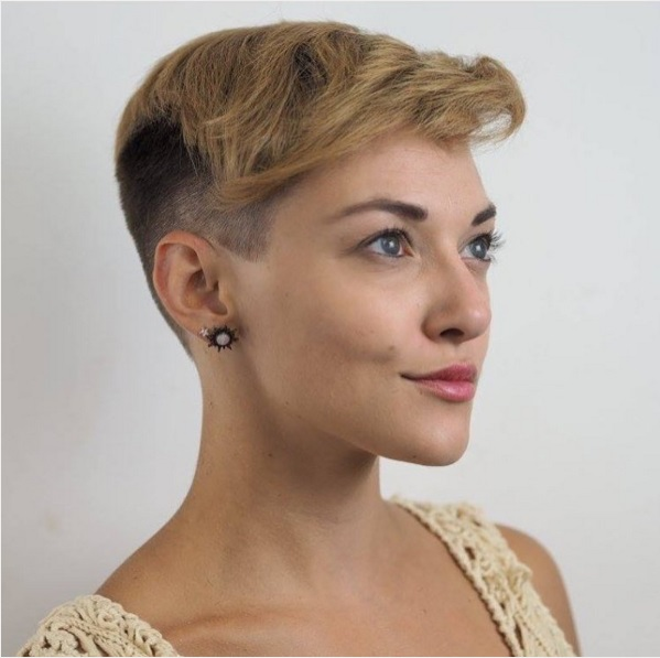 Short Haircuts with Shaved Sides for Women picture 15