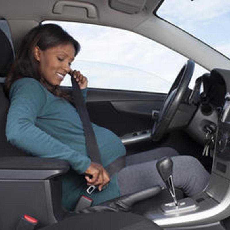 Bila si isteri mengandung memandu kereta !