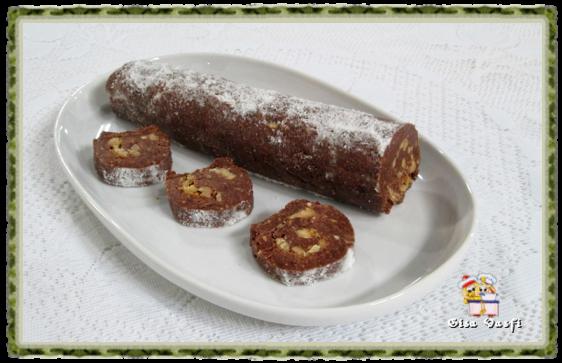 Salaminho de chocolate 2