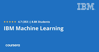 Free Coursera course to learn Machine Learning with Python