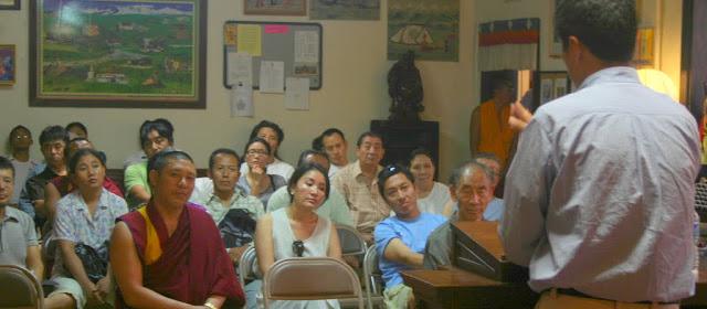 Q&As with Dr. Lobsang Sangay - IMG_6664.JPG