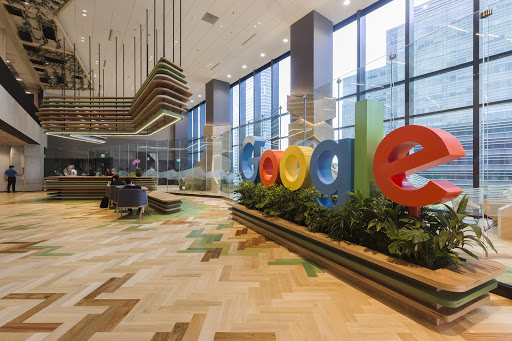Google's Asia Pacific Office in Singapore.