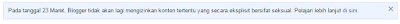 Penyebab Blog Dihapus Google