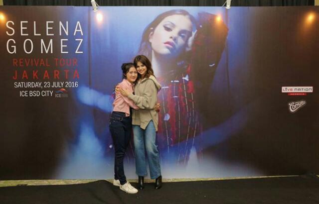 Heboh! Selena gomez pecah kan para selenator dalam Revival Tour di ICE BSD Tangerang
