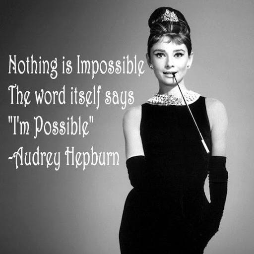 Audrey hepburn phrases