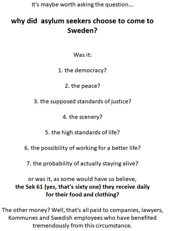 choose Sweden