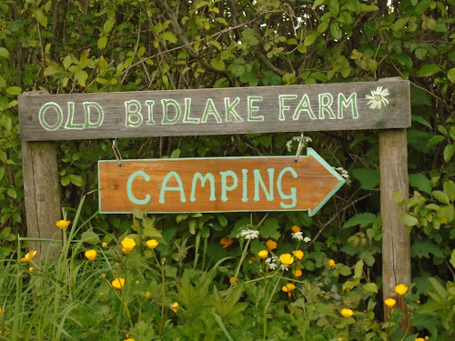 Camping  at OLD BIDLAKE FARM