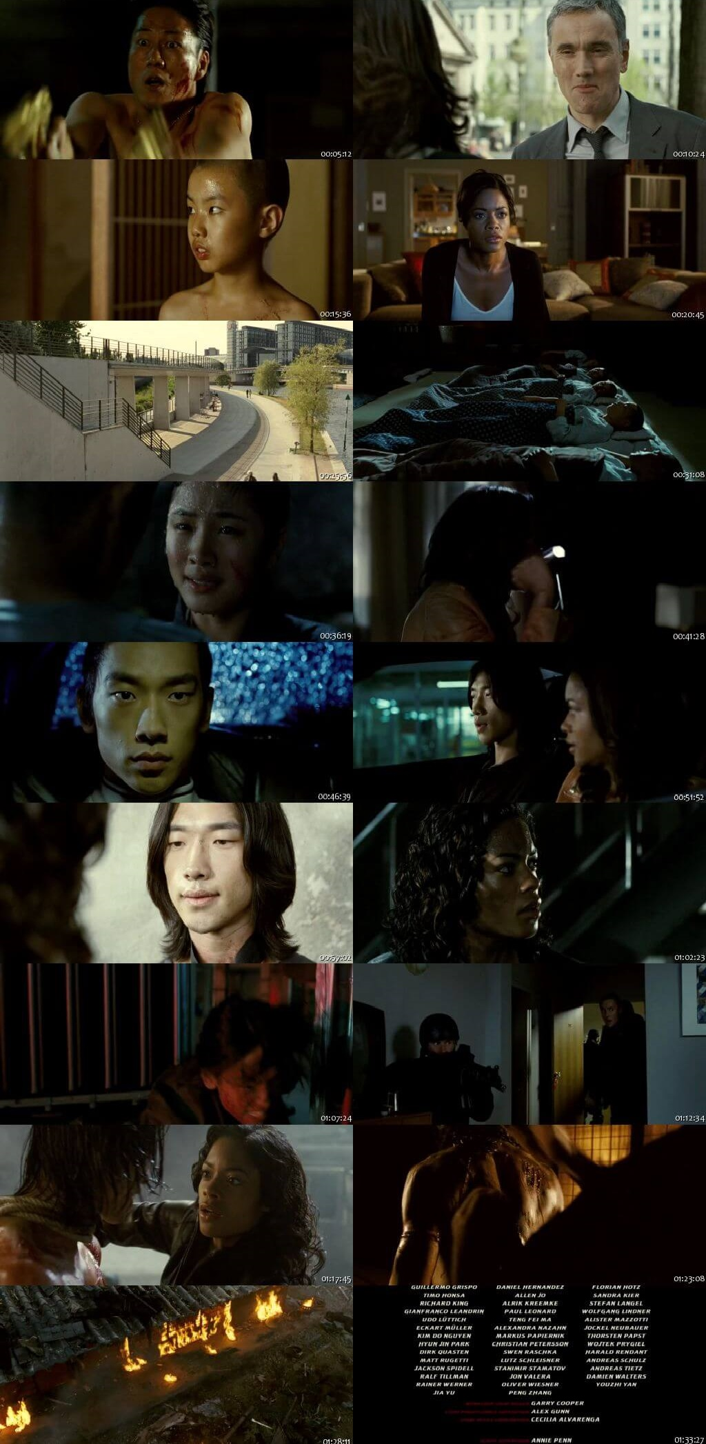 Screen Shot Of Ninja Assassin 2009 300MB Full Movie Hindi Dubbed Free Download 480P BRRip Small Size PC Movie