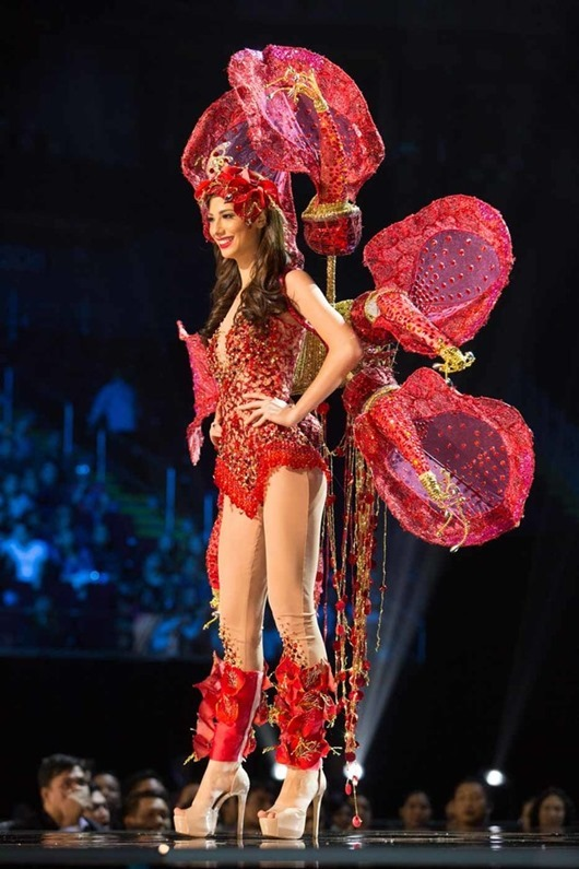Magdalena Cohendet, Miss Uruguay 2016 debuts her National Costume on stage at the Mall of Asia Arena on Thursday, January 26, 2017.  The contestants have been touring, filming, rehearsing and preparing to compete for the Miss Universe crown in the Philippines.  Tune in to the FOX telecast at 7:00 PM ET live/PT tape-delayed on Sunday, January 29, live from the Philippines to see who will become Miss Universe. HO/The Miss Universe Organization