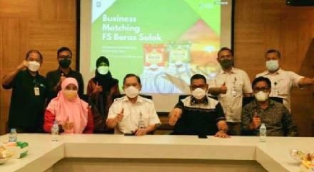 Epyardi Asda Bertemu Direktur PT Food Station Tjipinang Jaya