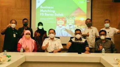 Bupati Epyardi Kembali Bertemu Direktur PT Food Station Tjipinang Jaya Bahas Pemasaran Bareh Solok