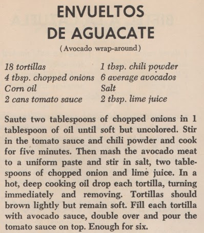 Avocado Wrap-Around   Envueltos De Aguacate