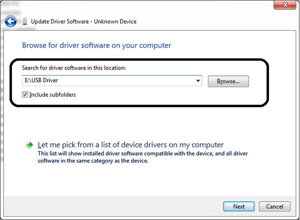 windows where to look for the driver