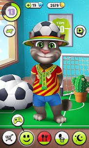 My Talking Tom MOD 4.7.2.91 (Unlimited Coins) Apk 2