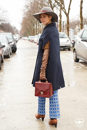Irene Marinari; production design; Veronica Marucci hat; Alberto Biani coat; Alberto Biani trousers; Minelli shoes; vintage bag; Brunello Cucinelli gloves;