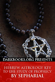 Cover of Sepharial's Book Hebrew Astrology Key to the Study of Prophecy