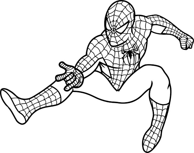 Spiderman Coloring Pages Koloringpages Throughout Spiderman Coloring