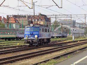 Photo: EP08-001 {Poznań Główny; 2014-07-19}