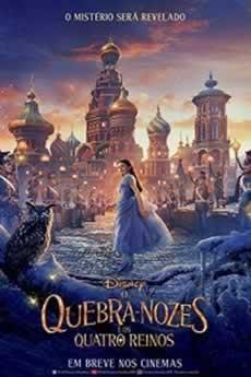 Capa O Quebra-Nozes e os Quatro Reinos Dublado 2019 Torrent