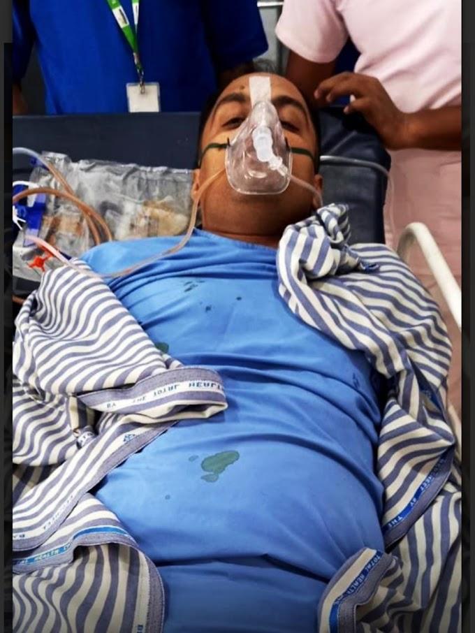 मोतिहारी में डीटीओ कर्मी को अपराधियों ने दिनदहाड़े मारी गोली, स्थिति गंभीर