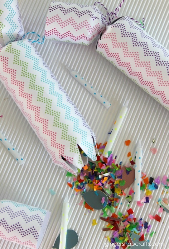 confetti poppers for a party