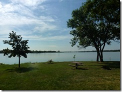Tent sites on Pawnee Lake