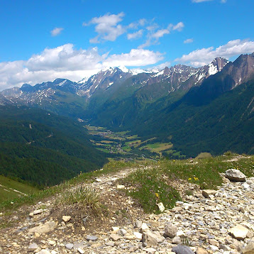 Mountainbike-Traumtouren mit Hindernis: Sandjoch und Schlüsseljoch