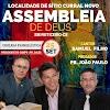 Assembleia de Deus T.C em feiticeiro no Ceará estará realizando grande Cruzada evangelística