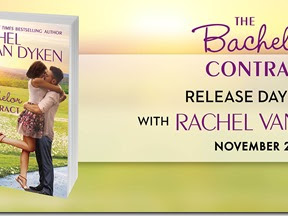 New Release: The Bachelor Contract by Rachel Van Dyken + Excerpt and Giveaway