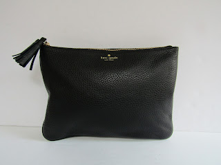 Kate Spade Pebbled Leather Pouch