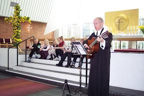 Leif Nielsen - gudstjeneste Påskedag 2009