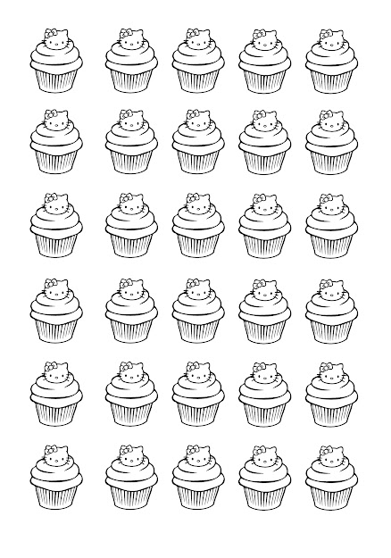 Cupcakes Hello Kitty  Image With  Cat Food  From The Gallery  Cup