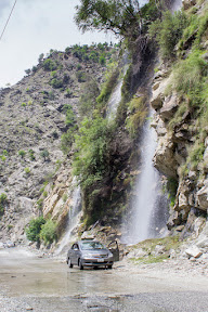 Another beautiful spring waterfall in Kohistan, Khyber Pakhtunkhwa