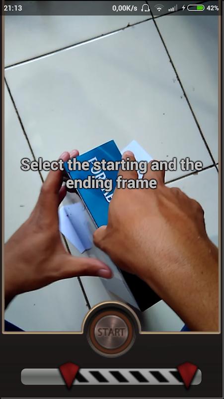 trik membuat video mundur seperti sulap