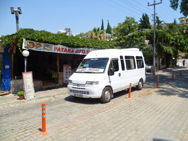A Dolmus in Patara Town
