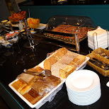 breakfast at the business lounge in Reykjavik, Hofuoborgarsvaeoi, Iceland