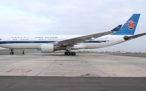 China Southern Airline at JKIA runway. PHOTO | RMS