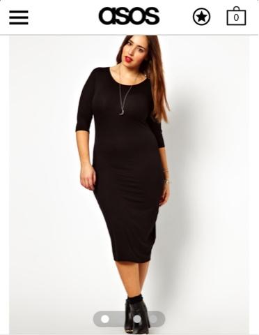 PLUS SIZE STYLE: Yes, Black BODYCON Dress! – FABGLANCE