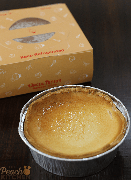 Uncle Tetsu Signature Cheese Tart and Cheese Tart Baked with Oreo