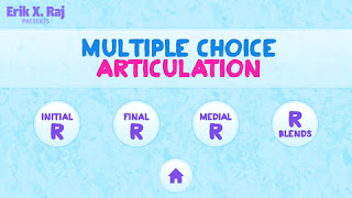 Multiple Choice Articulation R