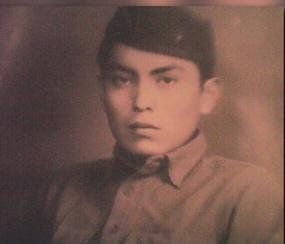 George James, Sr, age 17 circa 1943