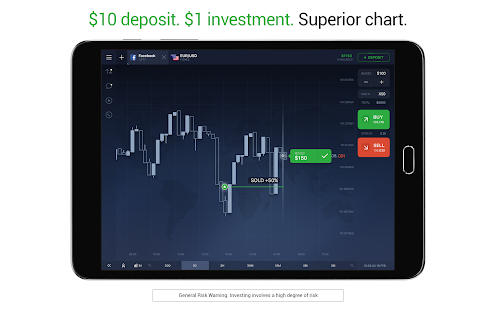 IQ Option broker: trade forex, CFD's, bitcoin- screenshot thumbnail