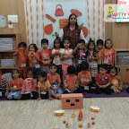 Orange Day Celebration by Nursery Morning Section at Witty Kids, Chikoowadi (2018-19)
