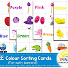 FREE Colour Sorting Cards