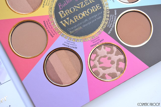 Too Faced The Little Black Book of Bronzers Review Swatches (4)