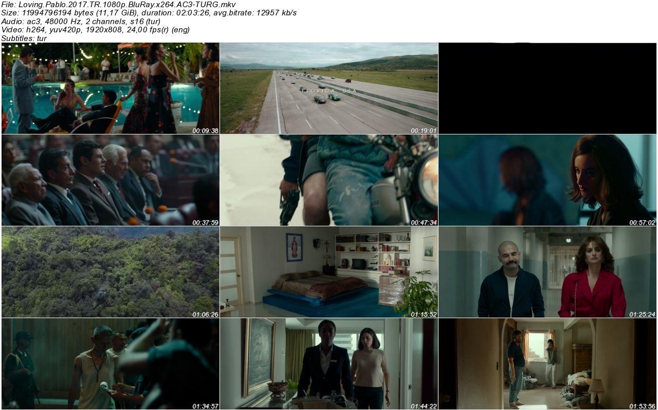 Pablo Escobarı Sevmek 2017 - 1080p 720p 480p - Türkçe Dublaj Tek Link indir