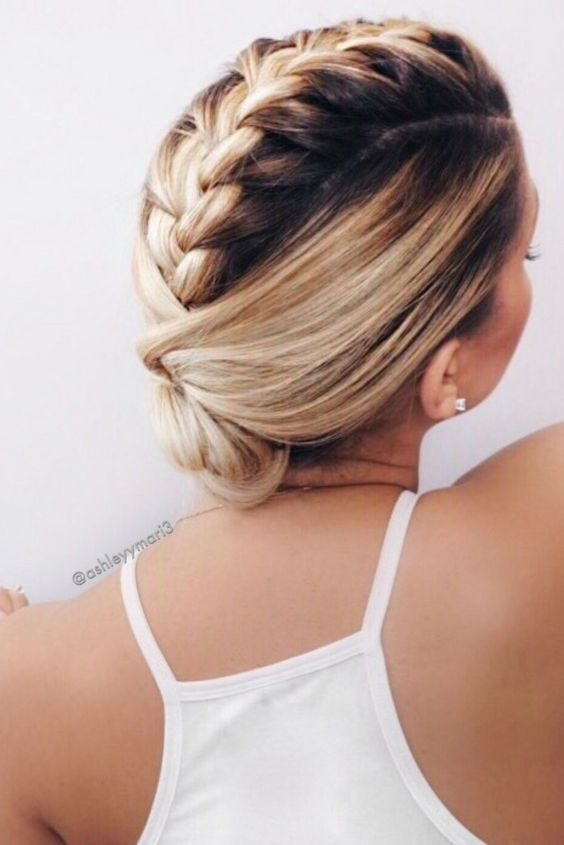 Braid for Short Hair :Style French Style Newest Ideas 2017 11